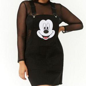 Licensed Disney Denim Overall Dress from F21